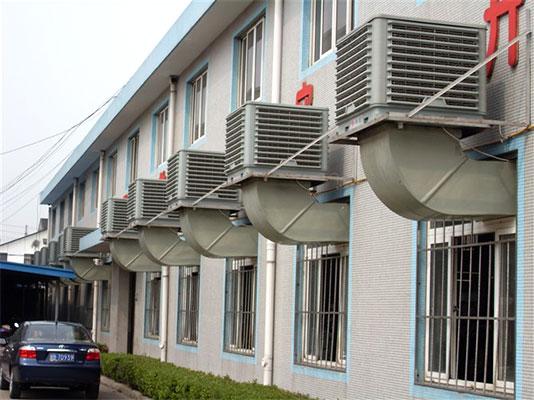 白市驿广亚集团安装冷风机