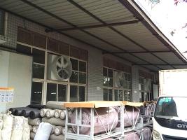 工厂安装玻璃钢负压风机