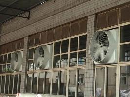 玻璃钢负压风机安装
