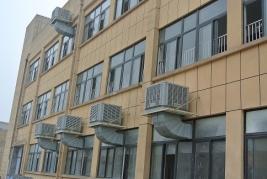 重庆巴王府食品有限公司安装冷风机
